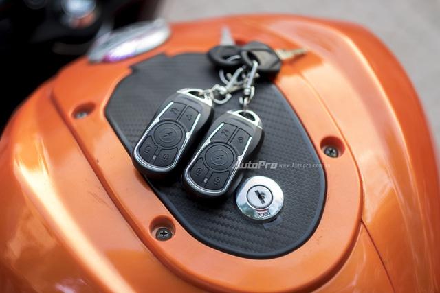 Cận cảnh xe điện mang kiểu dáng Ducati Monster, giá 25 triệu Đồng tại Hà Nội - Ảnh 9.