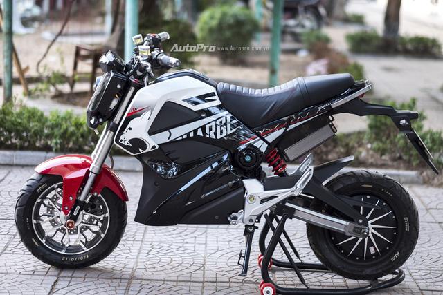 Cận cảnh xe điện mang kiểu dáng Ducati Monster, giá 25 triệu Đồng tại Hà Nội - Ảnh 18.