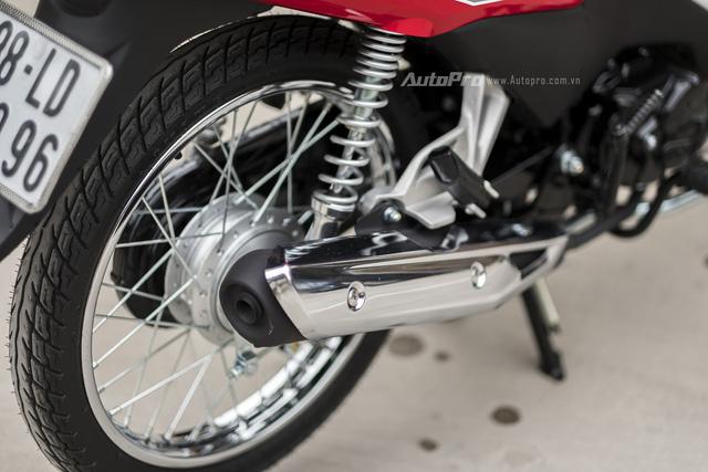 Honda Wave Alpha 110cc - Xe máy quốc dân - Ảnh 3.