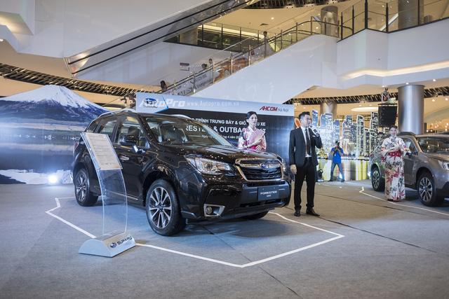 Subaru ra mắt Outback và Forester phiên bản 2017 tại Việt Nam - Ảnh 1.