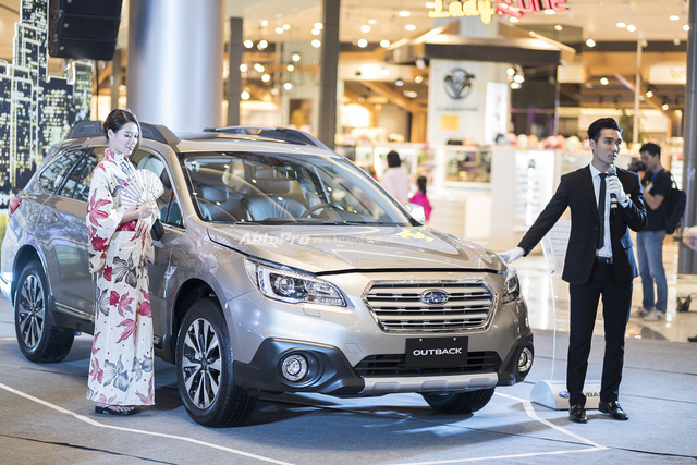 Subaru ra mắt Outback và Forester phiên bản 2017 tại Việt Nam - Ảnh 2.