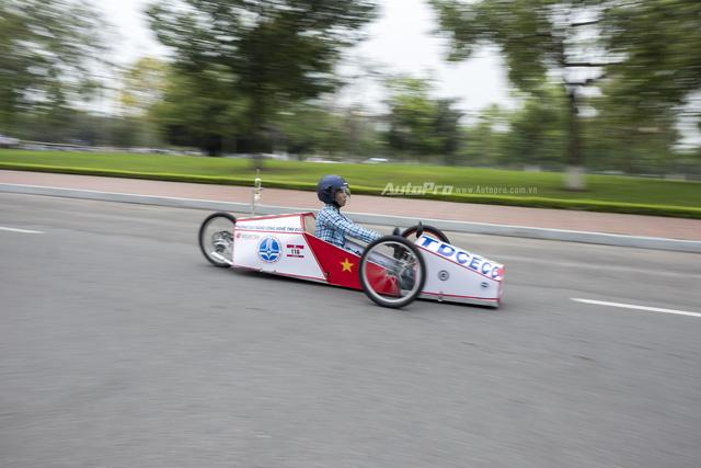 Ngắm nhìn dàn xe tự chế của Việt Nam thi đấu tiết kiệm nhiên liệu - Ảnh 11.