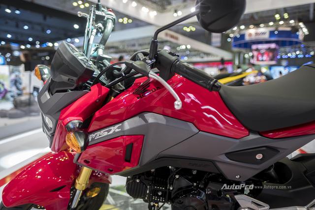 Cận cảnh Honda MSX mới vừa được ra mắt tại VMCS 2017 - Ảnh 4.