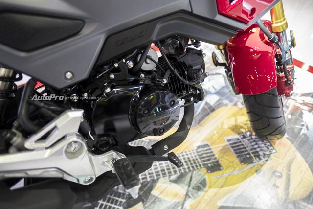 Cận cảnh Honda MSX mới vừa được ra mắt tại VMCS 2017 - Ảnh 8.