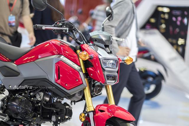 Cận cảnh Honda MSX mới vừa được ra mắt tại VMCS 2017 - Ảnh 3.