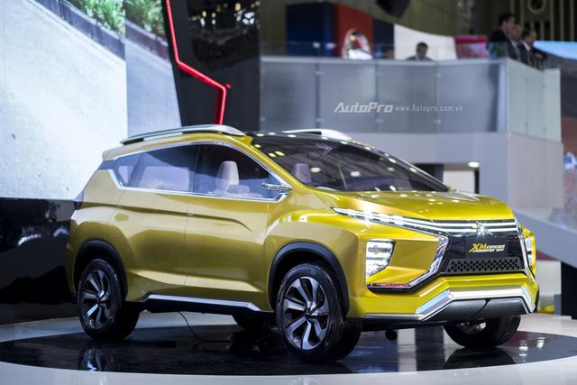 Mitsubishi XM Concept - Mẫu xe ý tưởng độc nhất VMS 2017 - Ảnh 1.