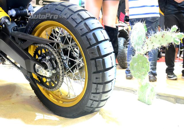 Chi tiết Ducati Scrambler Desert Sled 2017 giá 429 triệu Đồng tại Việt Nam - Ảnh 9.