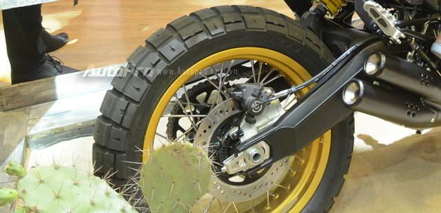 Chi tiết Ducati Scrambler Desert Sled 2017 giá 429 triệu Đồng tại Việt Nam - Ảnh 10.