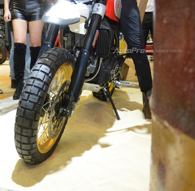Chi tiết Ducati Scrambler Desert Sled 2017 giá 429 triệu Đồng tại Việt Nam - Ảnh 3.