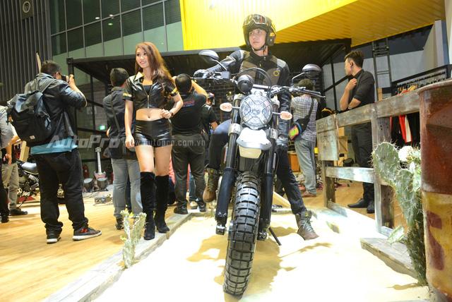 Chi tiết Ducati Scrambler Desert Sled 2017 giá 429 triệu Đồng tại Việt Nam - Ảnh 2.