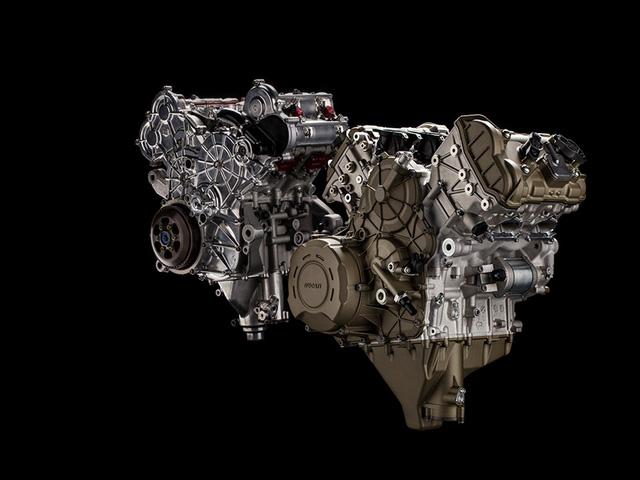 Khám phá động cơ V4 mới của Ducati được dùng cho siêu mô tô V4 Panigale - Ảnh 2.
