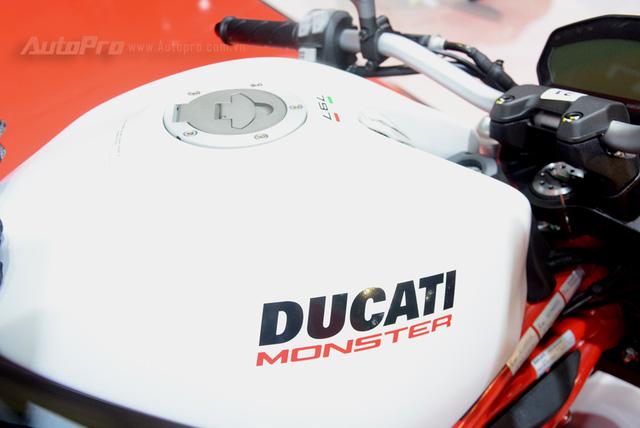 Chi tiết Ducati Monster 797 2017 tại thị trường Việt Nam, giá từ 388 triệu Đồng  - Ảnh 7.