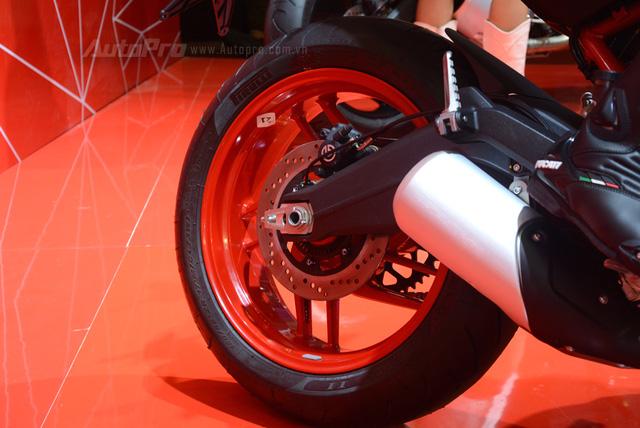 Chi tiết Ducati Monster 797 2017 tại thị trường Việt Nam, giá từ 388 triệu Đồng  - Ảnh 11.