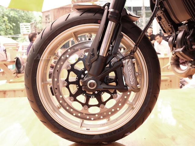 Cận cảnh Ducati Scrambler phiên bản Café Racer tại Việt Nam - Ảnh 16.