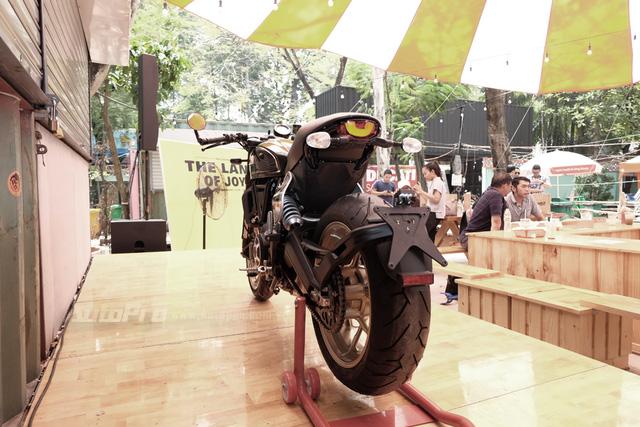 Cận cảnh Ducati Scrambler phiên bản Café Racer tại Việt Nam - Ảnh 4.
