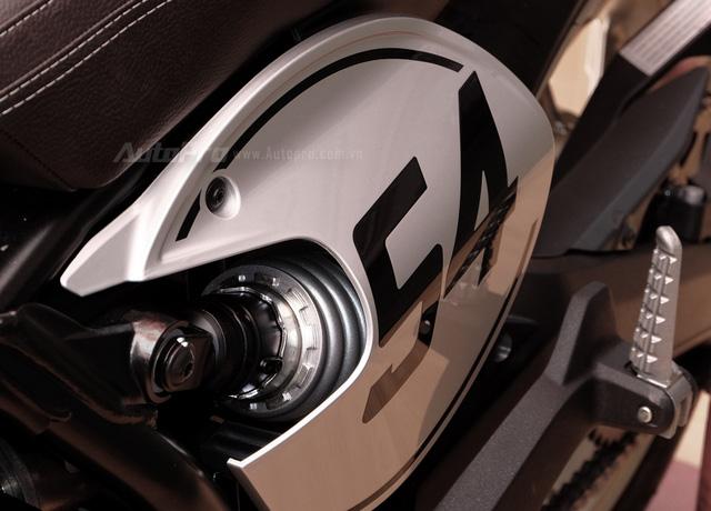 Cận cảnh Ducati Scrambler phiên bản Café Racer tại Việt Nam - Ảnh 8.