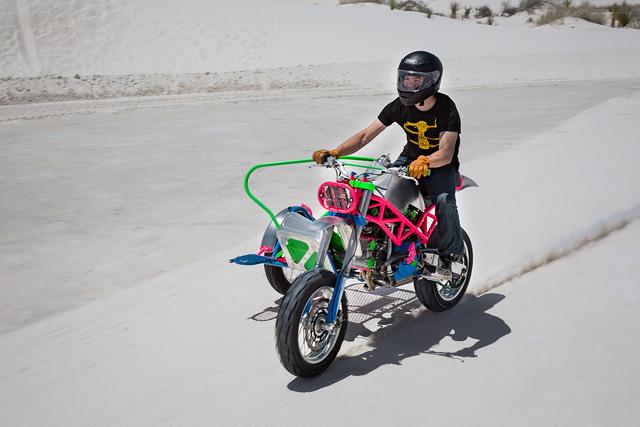 """Đây là chiếc Ducati độ """"dị"""" nhất mà bạn từng thấy - Ảnh 4."""