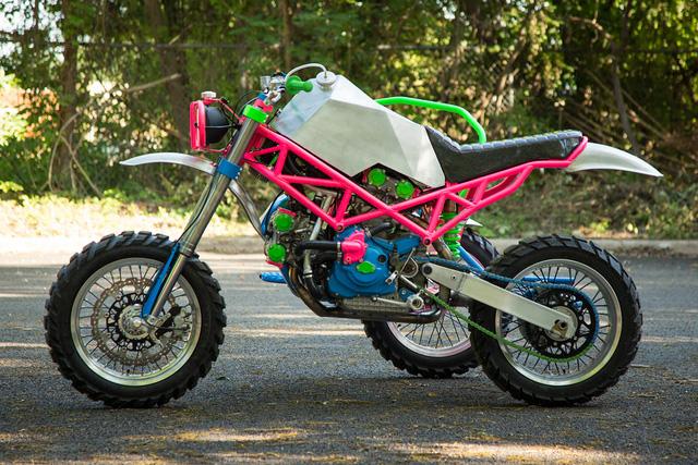 """Đây là chiếc Ducati độ """"dị"""" nhất mà bạn từng thấy - Ảnh 3."""