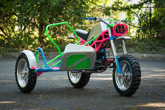 """Đây là chiếc Ducati độ """"dị"""" nhất mà bạn từng thấy - Ảnh 5."""