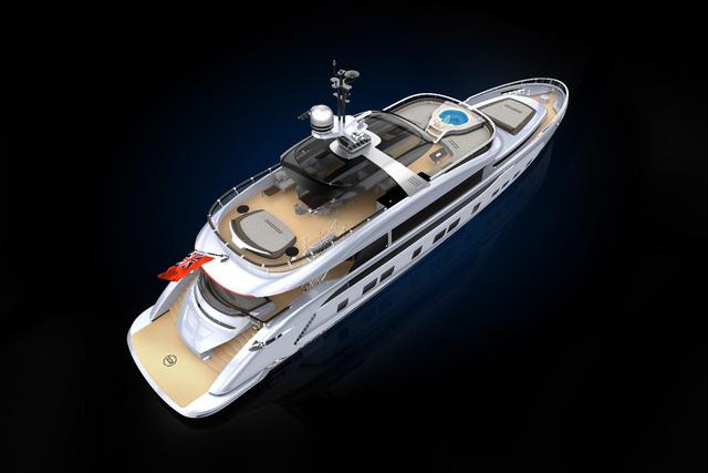 Du thuyền 300 tỷ với thiết kế mang phong cách Porsche - Ảnh 3.