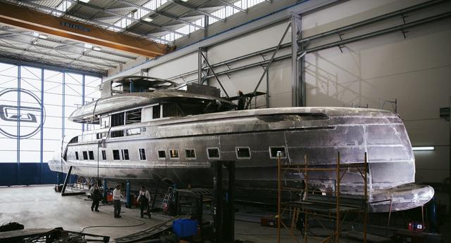 Du thuyền 300 tỷ với thiết kế mang phong cách Porsche - Ảnh 4.