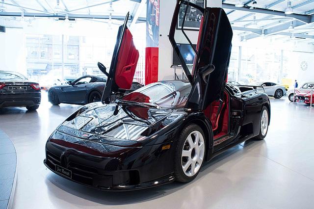 Bugatti EB110 SS - Siêu xe thập niên 90 có giá rao bán 26,5 tỷ Đồng - Ảnh 4.
