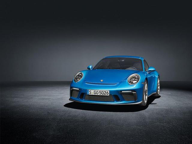Porsche 911 GT3 2018 có thêm phiên bản Touring Package, bản sao của hàng hiếm 911 R - Ảnh 4.