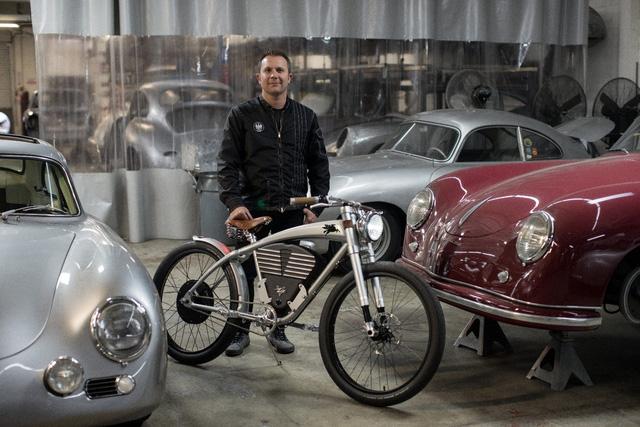 Xe đạp điện phong cách Porsche giới hạn 50 chiếc, giá 150 triệu đồng - Ảnh 2.