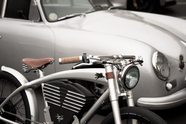 Xe đạp điện phong cách Porsche giới hạn 50 chiếc, giá 150 triệu đồng - ảnh 5