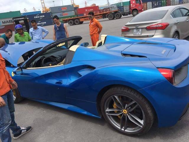 Ferrari 488 Spider đầu tiên về Việt Nam tái xuất tại Hải Phòng - Ảnh 6.