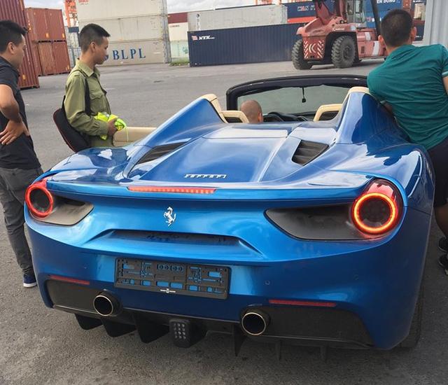 Ferrari 488 Spider đầu tiên về Việt Nam tái xuất tại Hải Phòng - Ảnh 7.