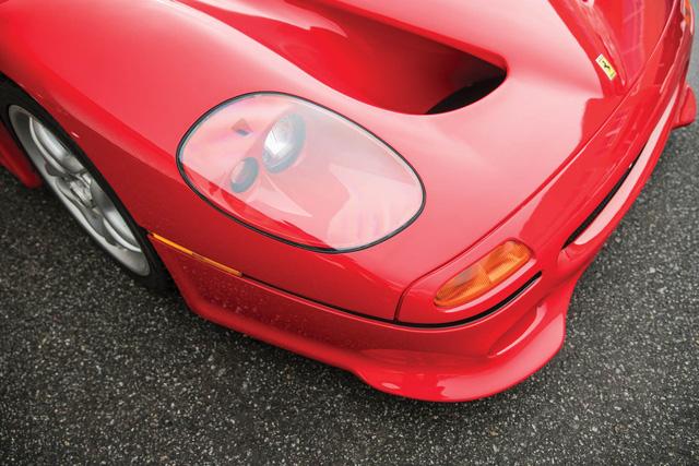 Ferrari F50 của tay đấm huyền thoại Mike Tyson chuẩn bị lên sàn đấu giá - Ảnh 8.