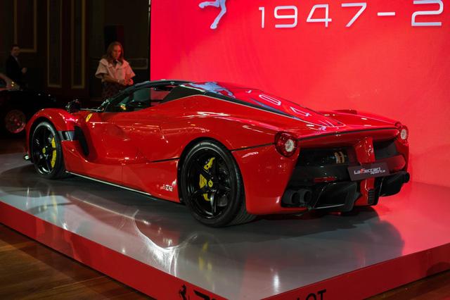 Siêu phẩm Ferrari LaFerrari Aperta ra mắt tại Úc - Ảnh 4.