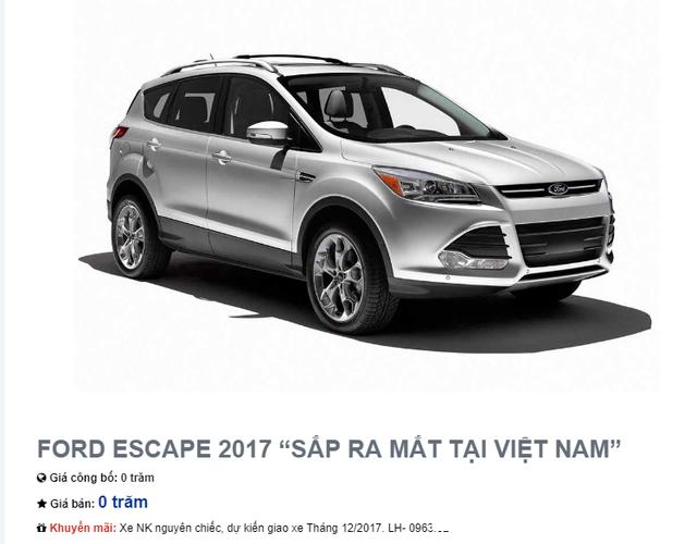 Rộ tin đồn Ford Escape 2017 sắp bán tại Việt Nam: Sale phao tin, hãng xe lại chối đây đẩy - Ảnh 3.