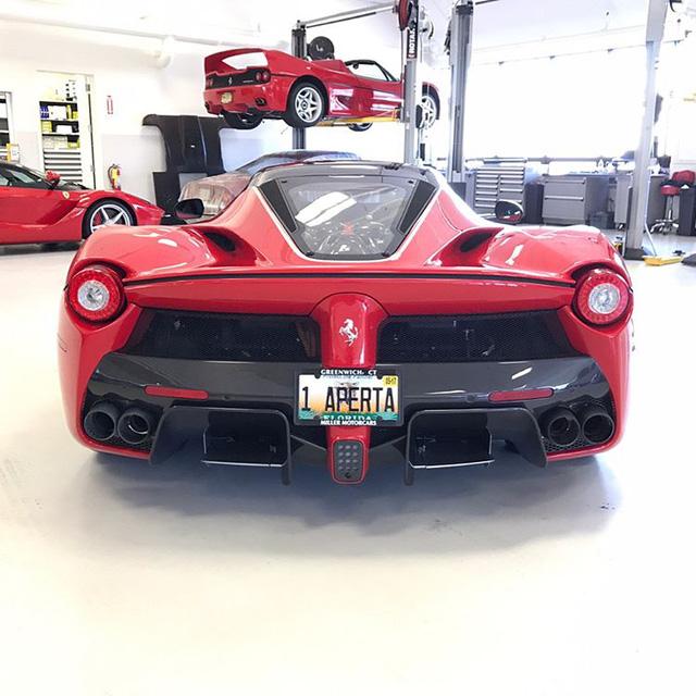 Đại gia ngành chăn đệm tậu Ferrari LaFerrari mui trần 46 tỷ Đồng - Ảnh 4.