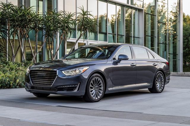 Sedan hạng sang cỡ lớn Genesis G90 là xe khiến khách hàng Mỹ hài lòng nhất - Ảnh 1.