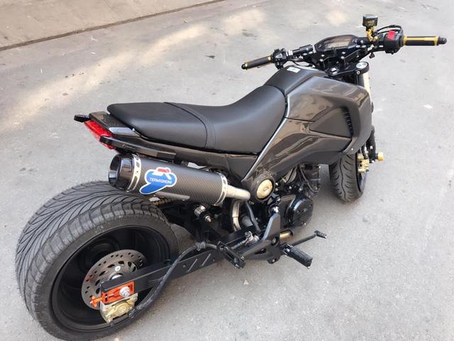 Honda MSX 125 độ hơn 100 triệu Đồng của biker Sài thành - Ảnh 8.