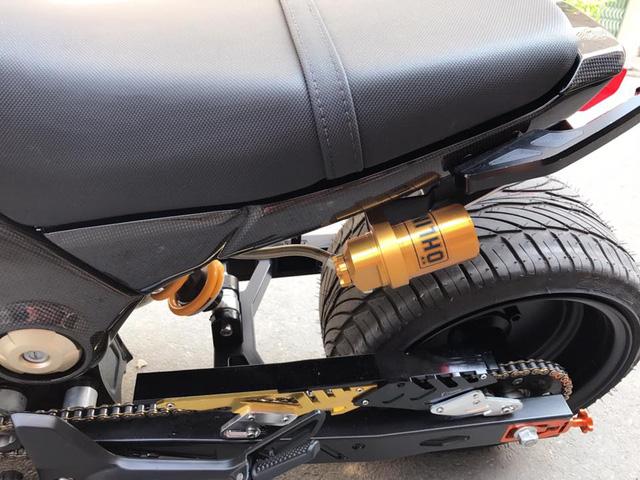 Honda MSX 125 độ hơn 100 triệu Đồng của biker Sài thành - Ảnh 7.