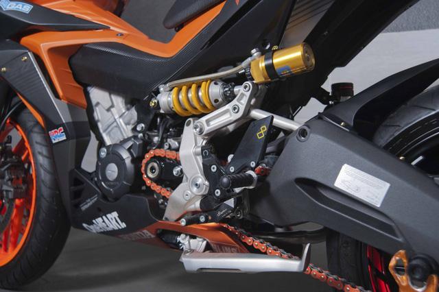 Honda Winner 150 lột xác với dàn đồ chơi trên các xe phân khối lớn - Ảnh 4.
