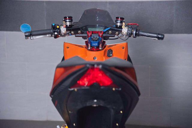 Honda Winner 150 lột xác với dàn đồ chơi trên các xe phân khối lớn - Ảnh 7.
