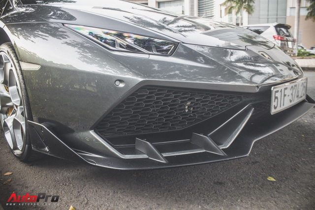 Lamborghini Huracan lên bodykit chính hãng 22.500 USD tại Việt Nam - Ảnh 4.