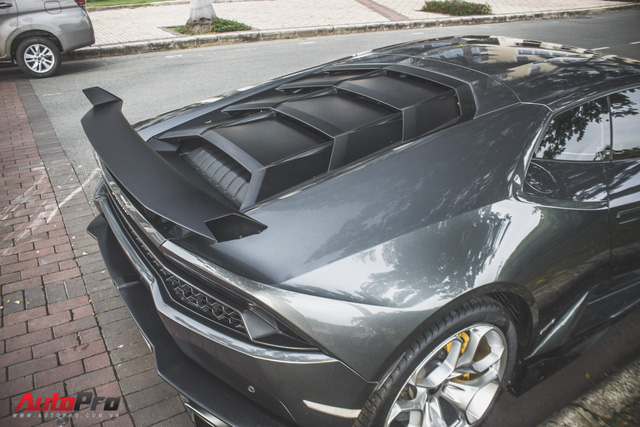 Lamborghini Huracan lên bodykit chính hãng 22.500 USD tại Việt Nam - Ảnh 5.