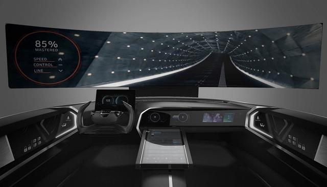 Nội thất như phi thuyền không gian trên xe Hyundai trong tương lai - Ảnh 1.