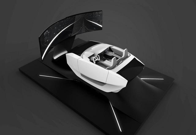 Nội thất như phi thuyền không gian trên xe Hyundai trong tương lai - Ảnh 2.