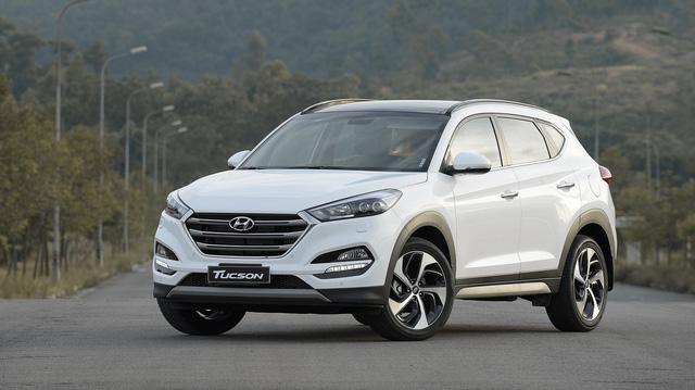 Hyundai Tucson giảm giá mạnh sau khi Honda CR-V ra bản mới