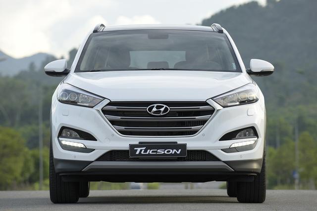 Hyundai Tucson giảm giá mạnh sau khi Honda CR-V ra bản mới - ảnh 1