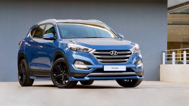 Hyundai tung ra Tucson Sport 2017 với thiết kế thể thao và động cơ mạnh hơn