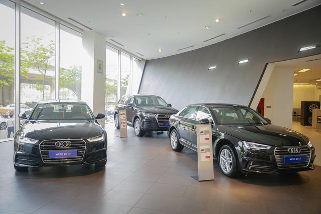 Khám phá dàn xe Audi sản xuất riêng cho APEC 2017 tại Việt Nam - Ảnh 1.