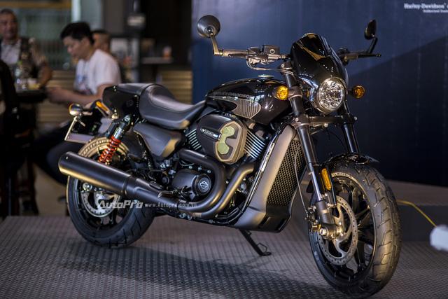 Cận cảnh Harley-Davidson Street Rod 2017 giá 415 triệu - Ảnh 13.