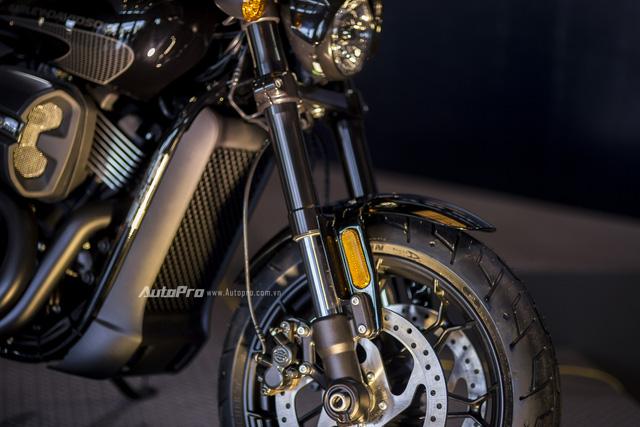 Cận cảnh Harley-Davidson Street Rod 2017 giá 415 triệu - Ảnh 8.